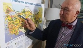 Prof. Ercan Marmara Bölgesi'nde büyük depremin nerede olacağını açıkladı