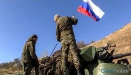 Rus ordusu Karabağ'da resmen göreve başladı