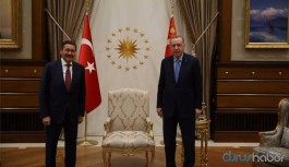 Saray'da dikkat çeken buluşma: Erdoğan, Gökçek'le görüştü