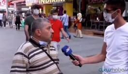 Sokak röportajında AKP'yi eleştirdi, tutuklandı!