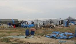 Suriyeli mültecilerin sağlık konteynerleri kaldırıldı