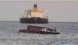 Tankere çarpan teknede 4 balıkçı öldü