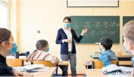 Testi pozitif çıkan öğretmenler okulda