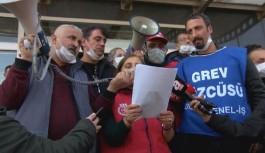 Maltepe Belediyesi işçisi grev oylamasındayken,...