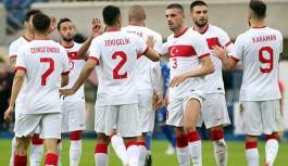 Türkiye, son hazırlık maçında Moldova'yı 2-0 yendi