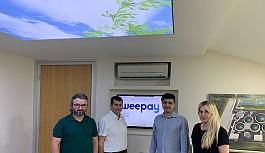 Yerli fintech girişimi weepay'dan  15 milyon TL'lik yatırım sözleşmesi