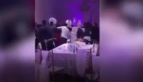 Gelinin görüntüleri düğünü karıştırdı
