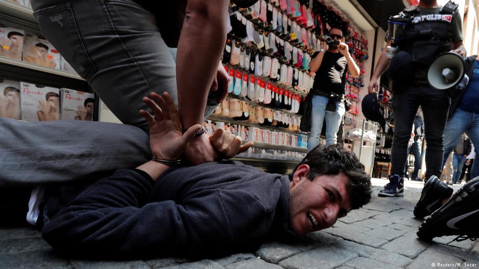 İstanbul'da en az 84 gözaltı