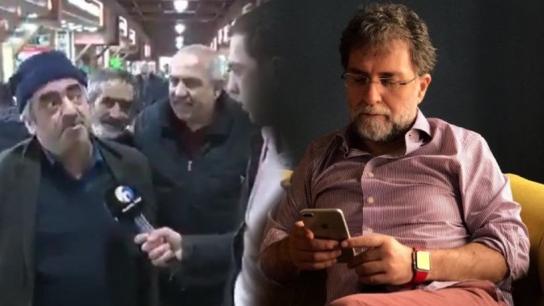 Sokak röportajlarını izleyen Ahmet Hakan isyan etti