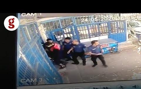 Çorlu'da polis şiddetine dair yeni görüntüler: Apartman kapısı tekmeleniyor