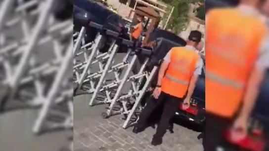 MHP'li Erkan Haberal'in şoförü, belediye çalışanını kasten ezdi